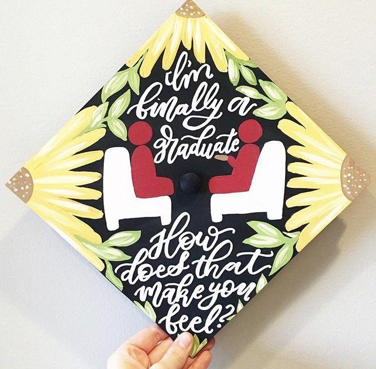Psychology Graduation Gift Ideas  Counseling psychology college graduation cap