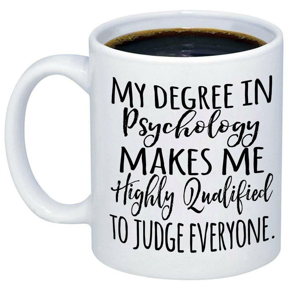 Psychology Graduation Gift Ideas  Psychology Graduation Gift Psychology Mug Psychologist