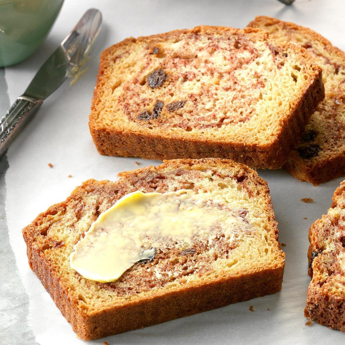 Quick Easy Bread Recipe  Cinnamon Raisin Quick Bread Recipe