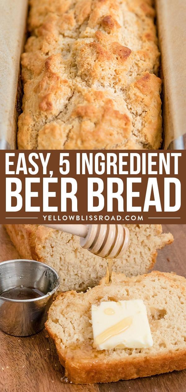 Quick Easy Bread Recipe  Easy Beer Bread Recipe Quick Bread