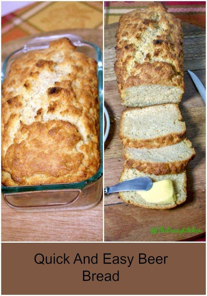 Quick Easy Bread Recipe  Quick Easy Beer Bread Recipe