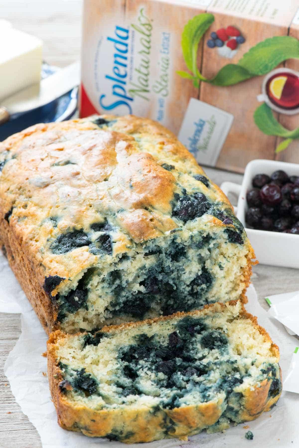 Quick Easy Bread Recipe  Blueberry Quick Bread Crazy for Crust