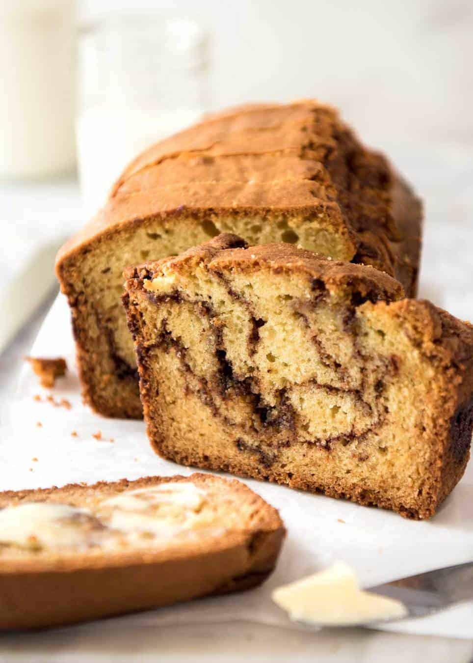 Quick Easy Bread Recipe  Easy Cinnamon Bread No Yeast