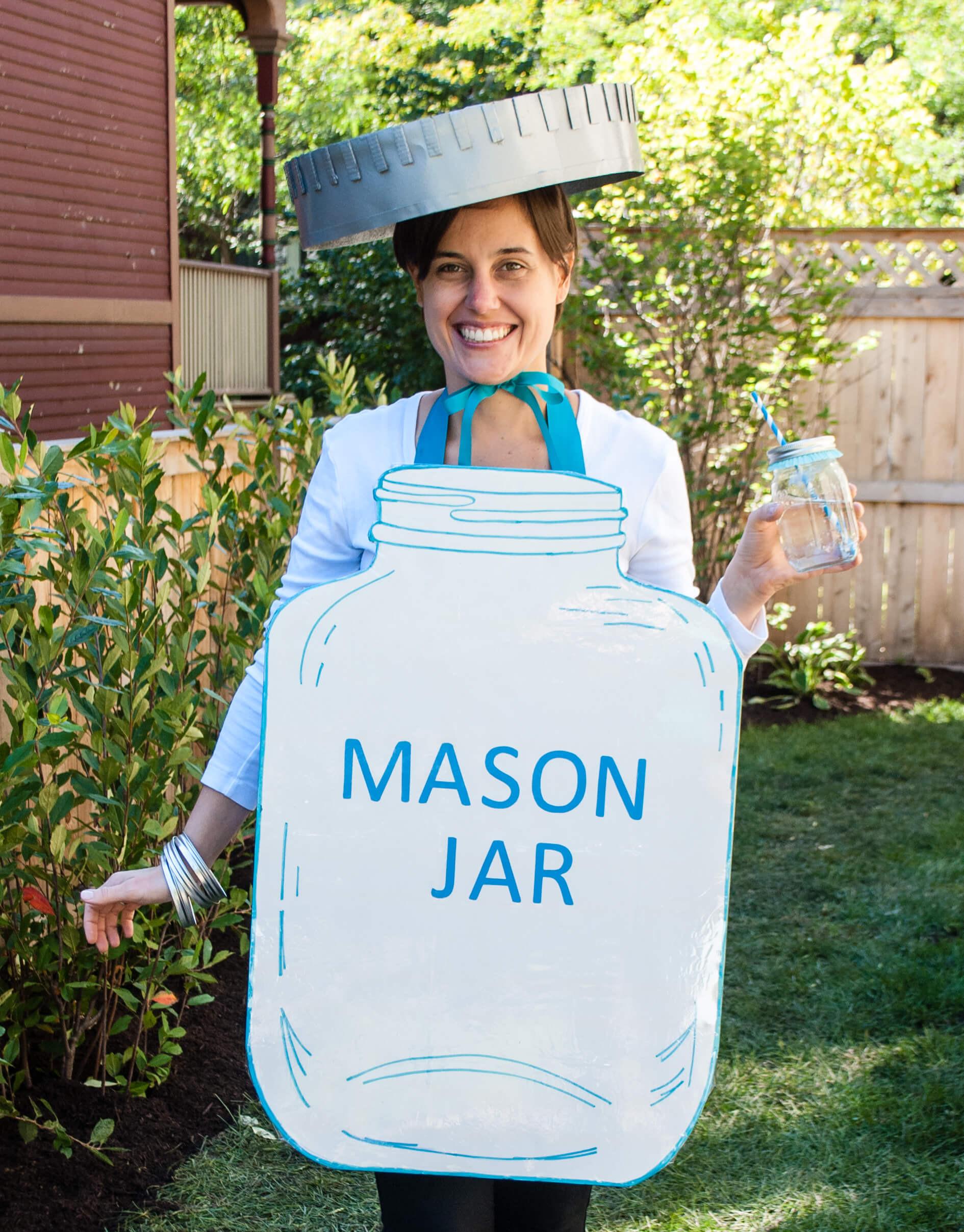 Quick Easy DIY Halloween Costumes Adults  Mason Jar Halloween Costume Easy DIY Halloween Costume