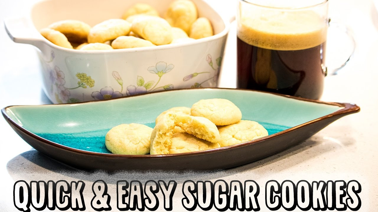 Quick Easy Sugar Cookies  Quick & Easy Sugar Cookies