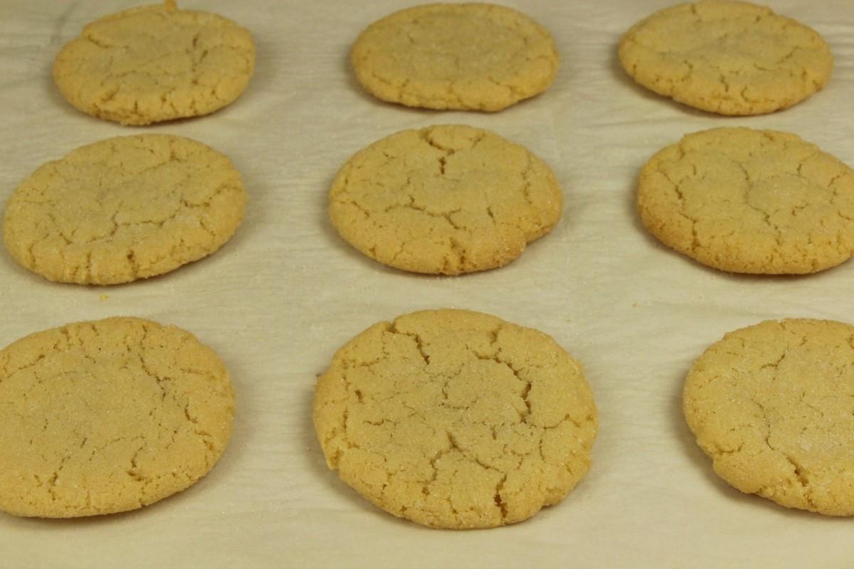Quick Easy Sugar Cookies  e Bowl Super Chewy Sugar Cookies Recipe