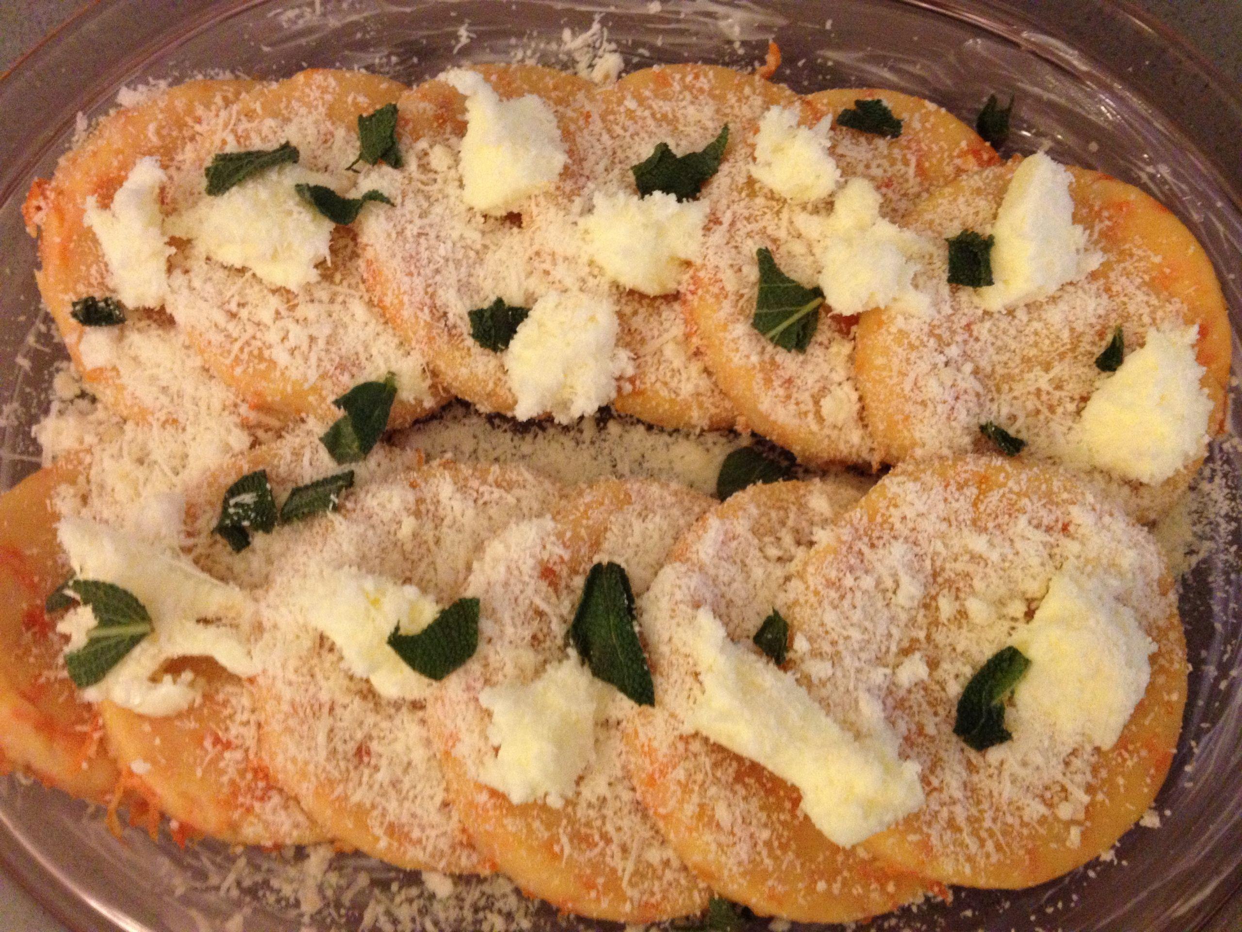 Quick Italian Recipes  Easy Italian Recipe Gnocchi di zucca alla romana