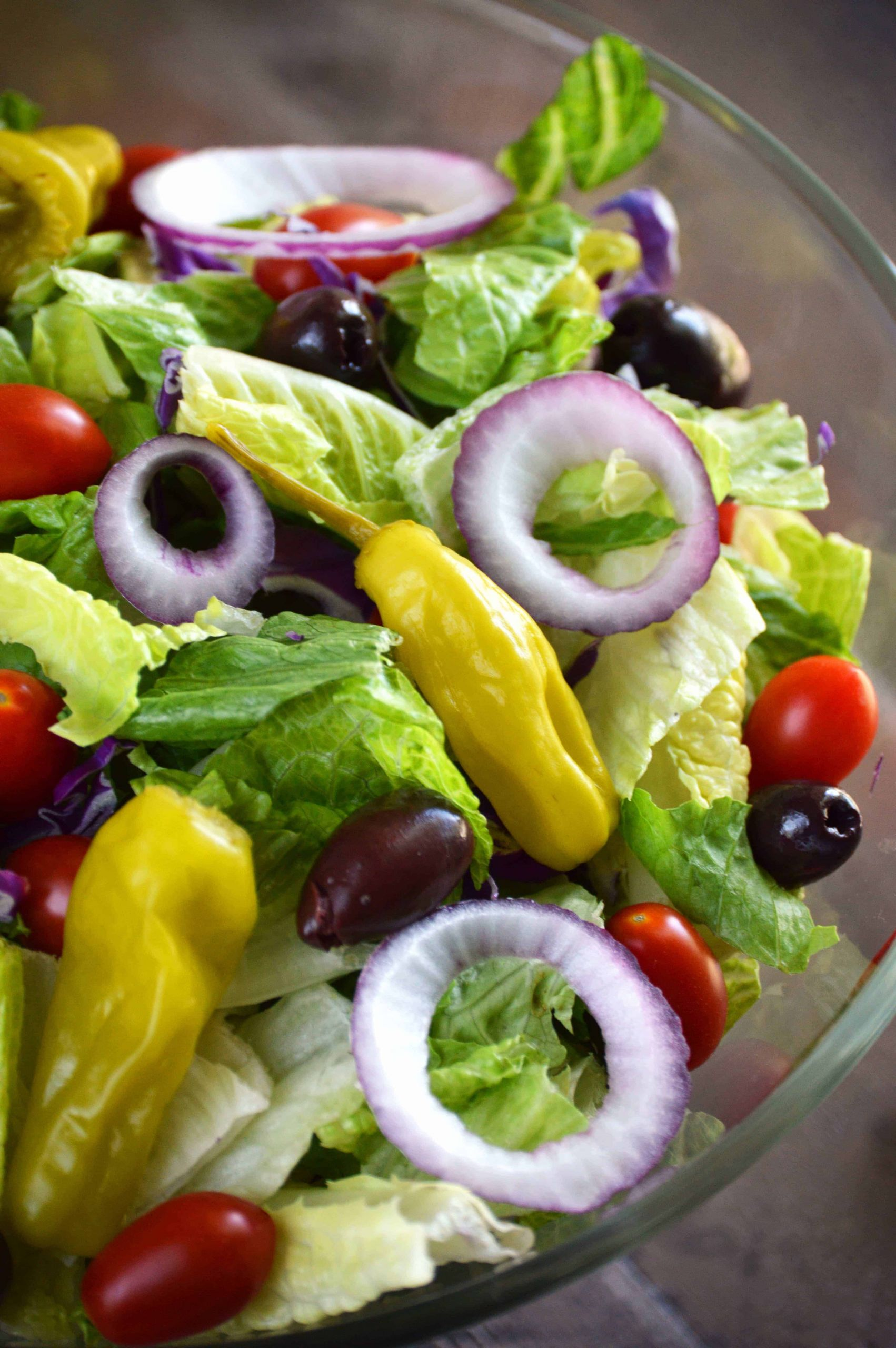 Quick Italian Recipes  Easy Italian Salad What the Fork