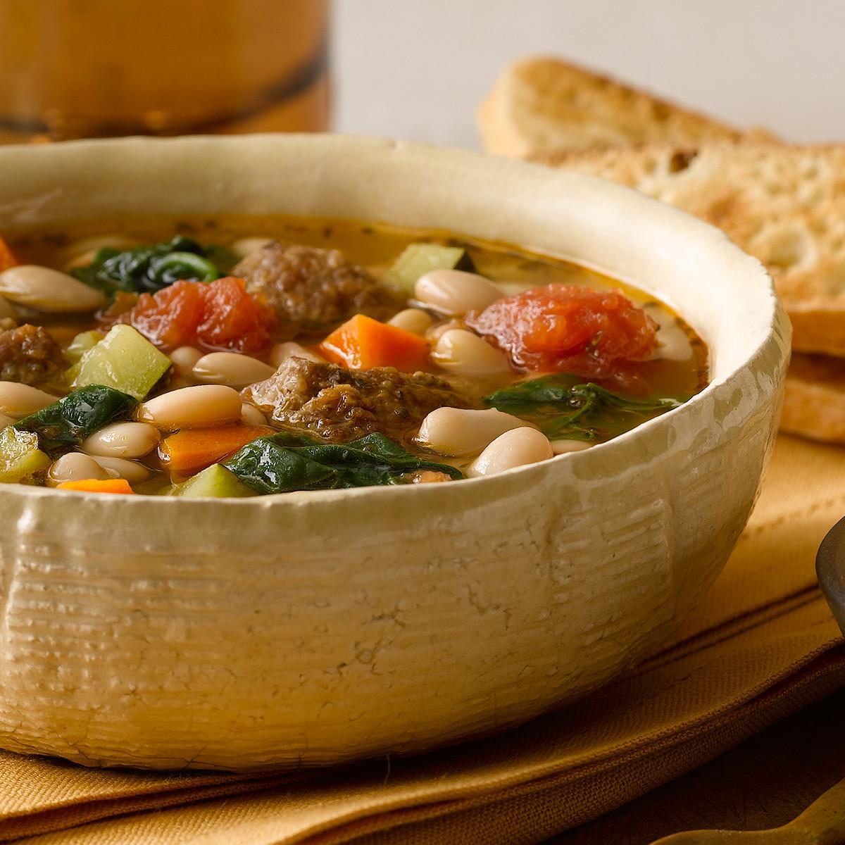 Quick Italian Recipes  Quick Italian Sausage Soup Recipe
