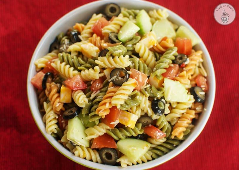 Quick Italian Recipes  Easy Italian Pasta Salad
