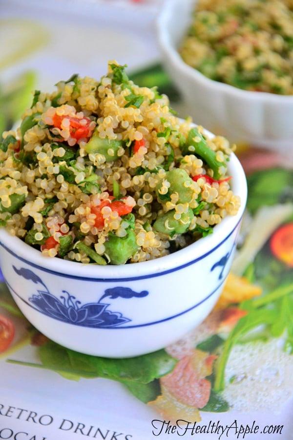 Quinoa Salad Dressing  Quinoa salad recipe