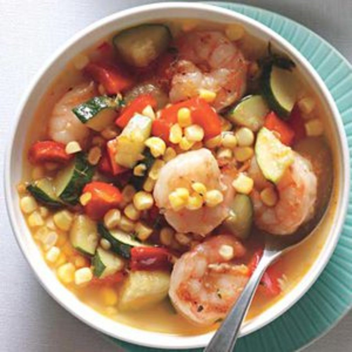 Rachael Ray Winter Vegetable Chowder  Shrimp and Corn Chowder Recipe in 2020