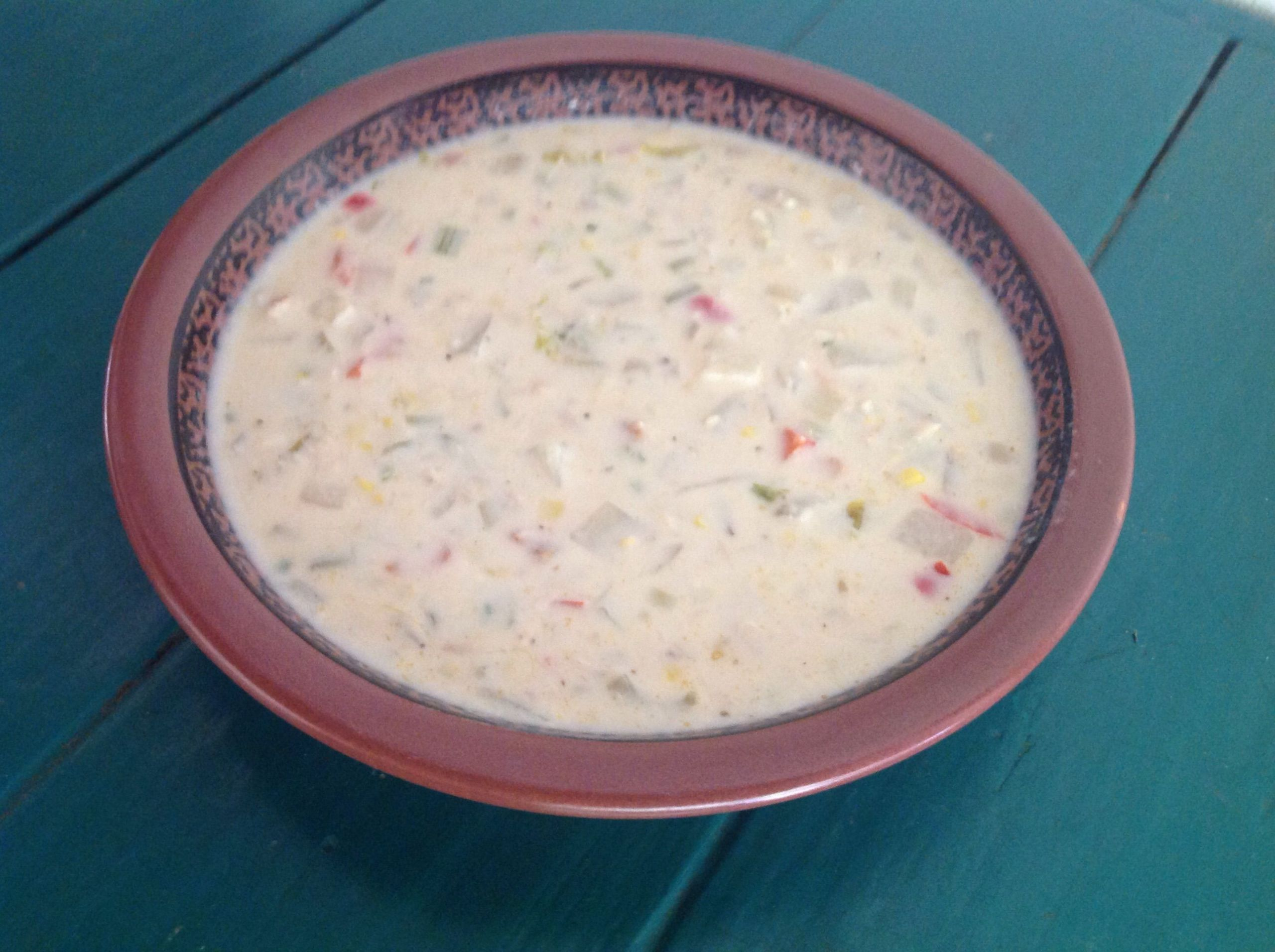 Rachael Ray Winter Vegetable Chowder  Rachael Ray s easy to make crab corn chowder to a