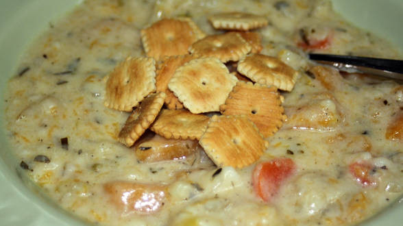 Rachael Ray Winter Vegetable Chowder  Winter Ve able Chowder Rachael Ray