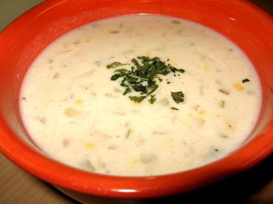 Rachael Ray Winter Vegetable Chowder  North Country Corn Chowder Rachael Ray Recipe