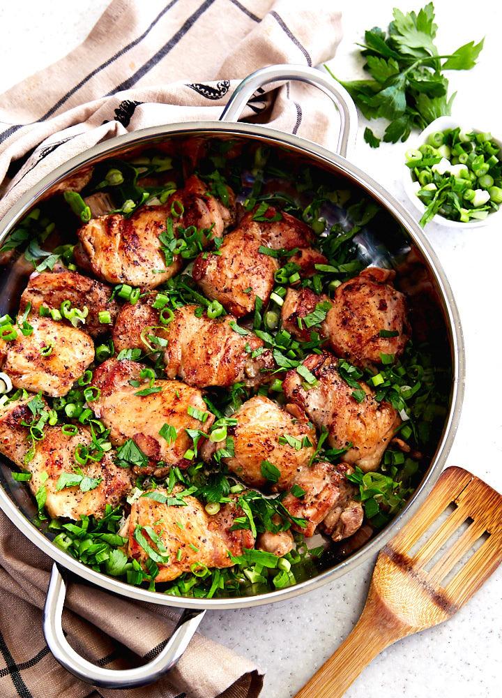 Recipes For Chicken Thighs  Boneless Chicken Thigh Recipe i FOOD Blogger