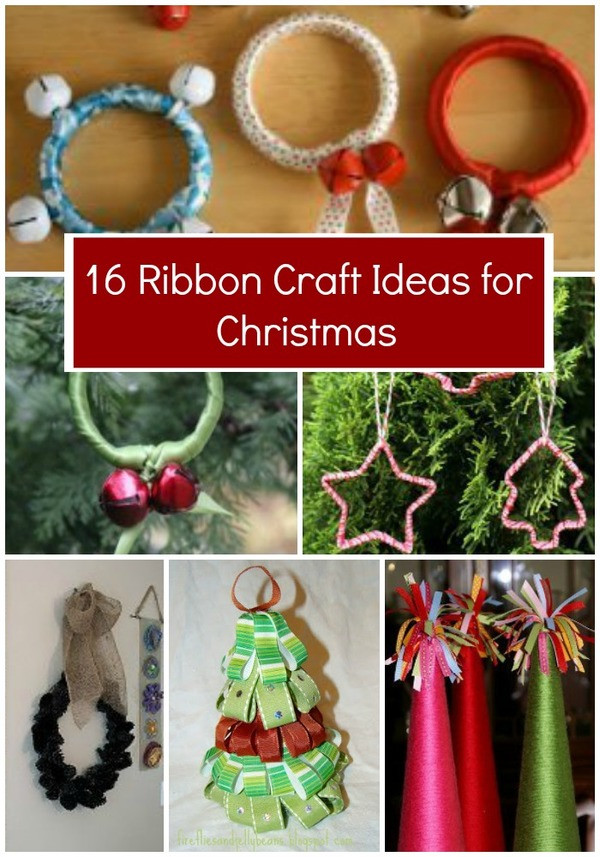 Ribbon Craft Ideas For Adults  16 Ribbon Craft Ideas for Christmas