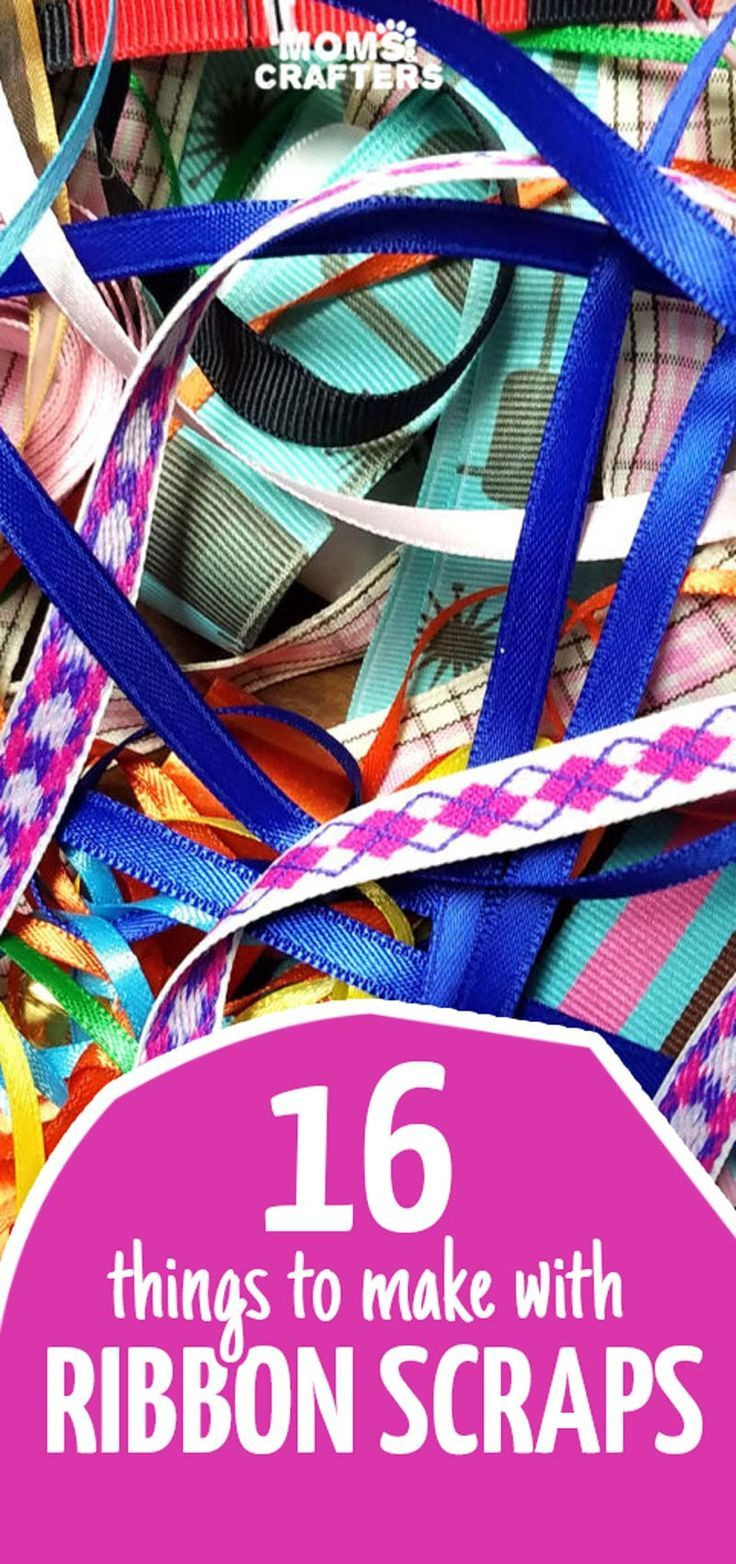 Ribbon Craft Ideas For Adults  Things to Make with Ribbon Scraps