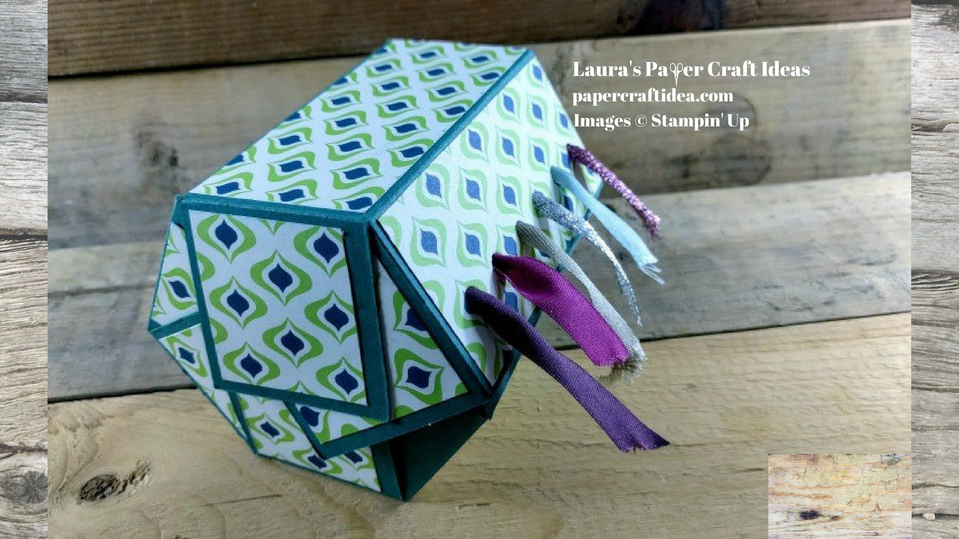 Ribbon Craft Ideas For Adults  DIY Ribbon Holder Stampin Up Laura s Paper Craft Ideas