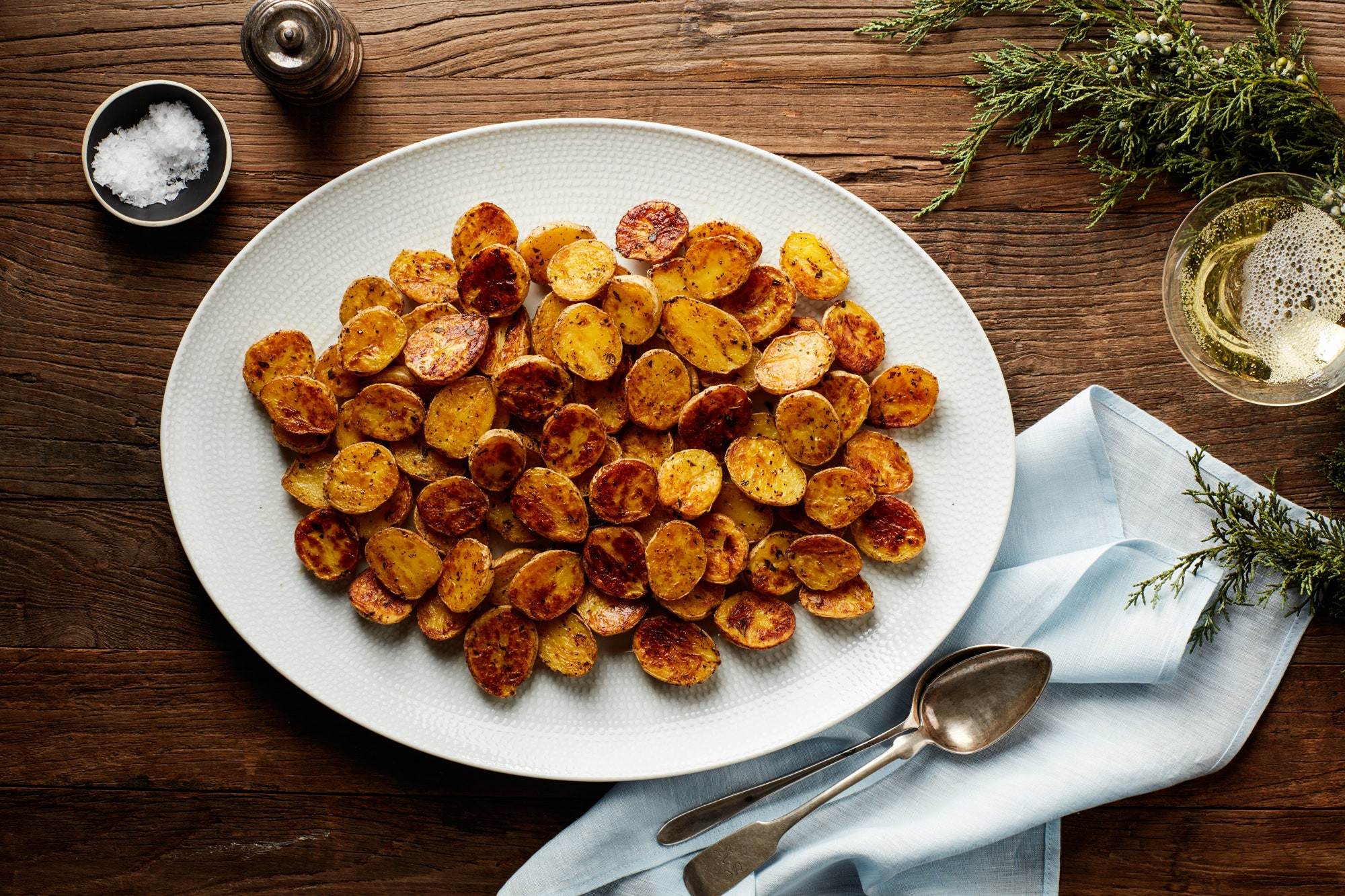 Roasted Baby Gold Potatoes  Crispy Baby Yukon Gold Potatoes recipe