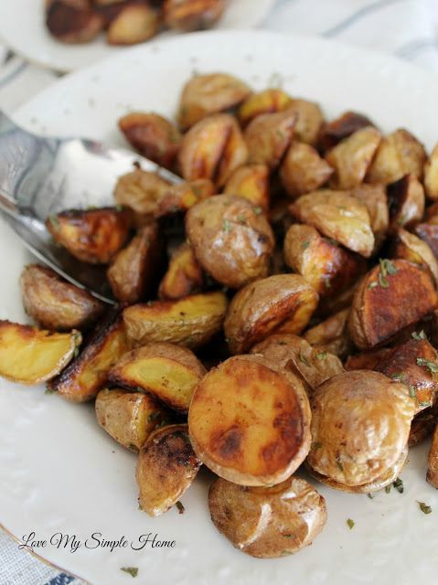 Roasted Baby Gold Potatoes  Roasted Honey Gold Potatoes Love My Simple Home