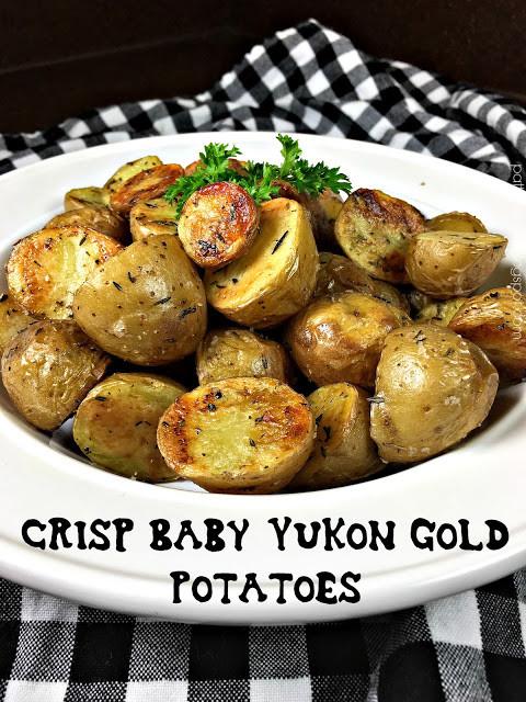 Roasted Baby Gold Potatoes  Crisp Baby Yukon Gold Potatoes