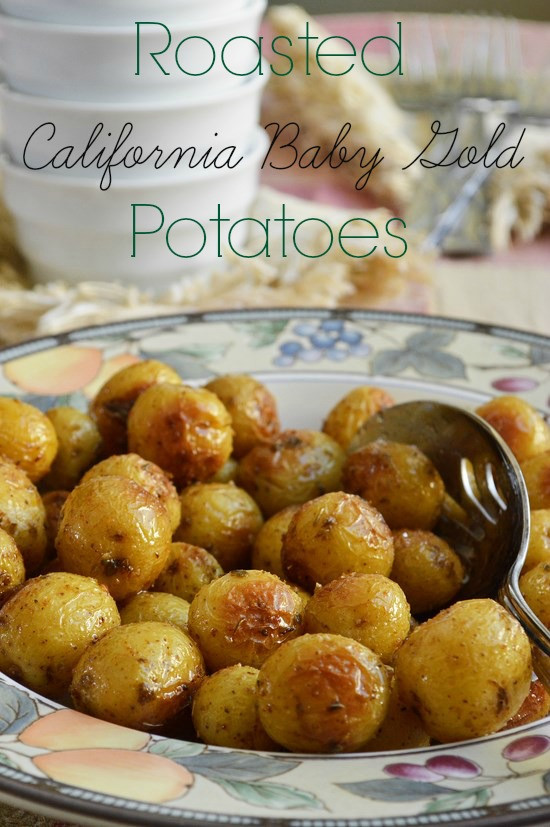Roasted Baby Gold Potatoes  Roasted California Baby Gold Potatoes Breezy Bakes