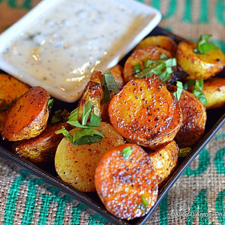 Roasted Baby Gold Potatoes  MIddle Eastern Baby Gold Potatoes