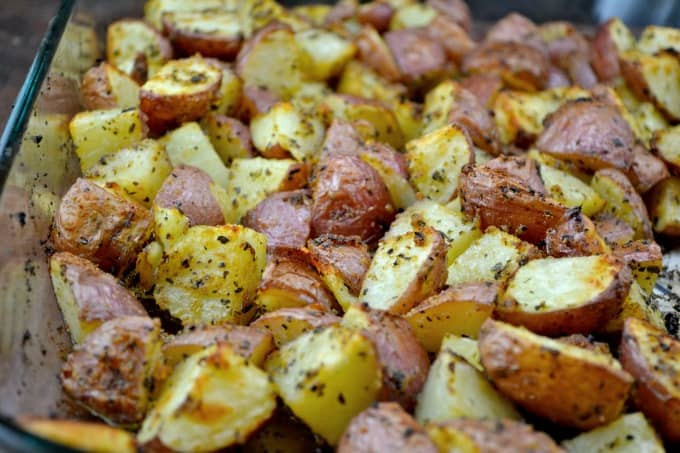 Roasted Baby Red Potatoes  Roasted Garlic Baby Red Potatoes Build Your Bite