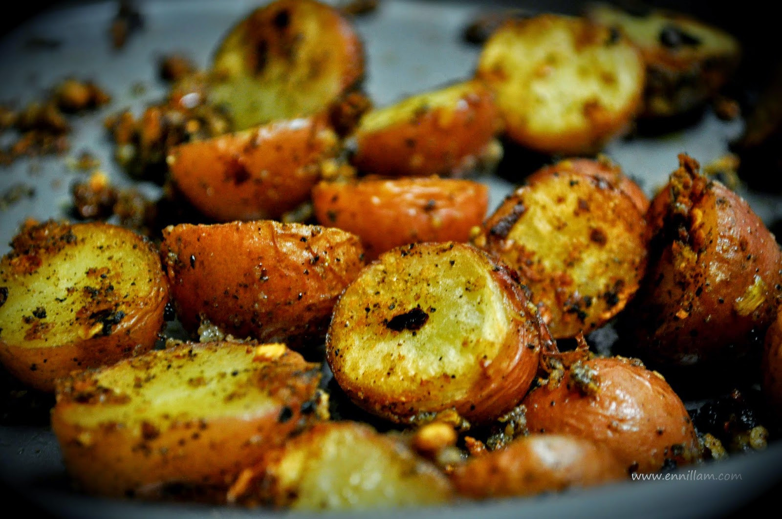 Roasted Baby Red Potatoes  Oven roasted red baby potatoes