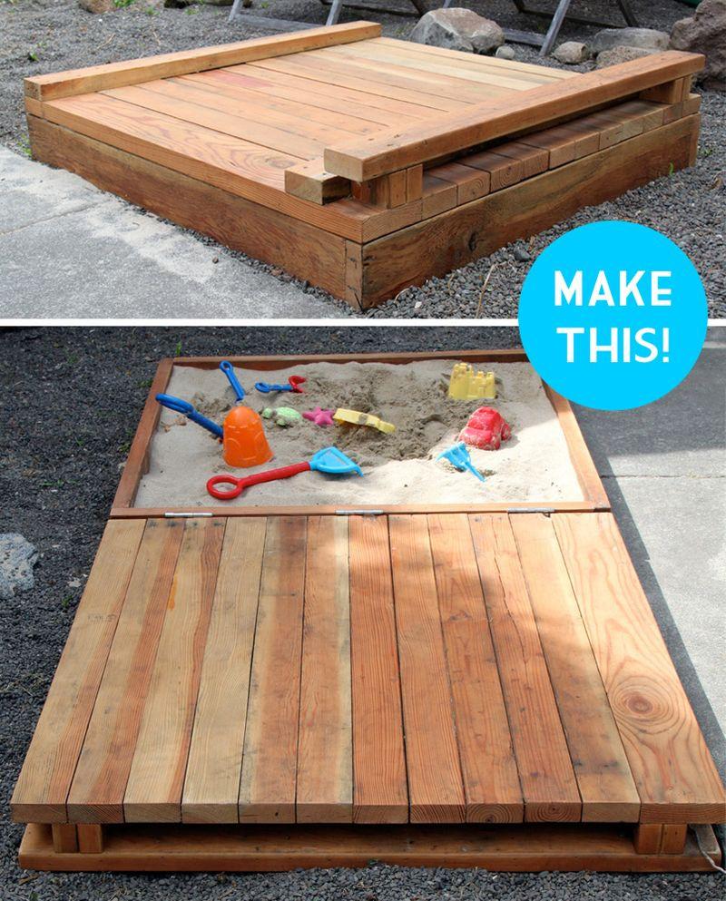 Sandbox Plans DIY  Make sandbox