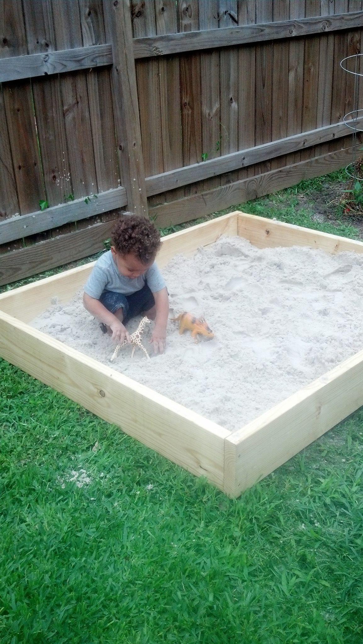 Sandbox Plans DIY  DIY Sandbox