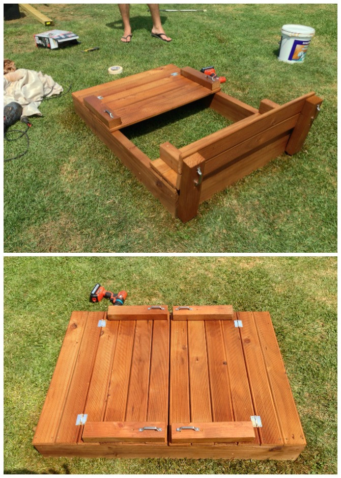 Sandbox Plans DIY  DIY Sandbox Projects Picture Instructions