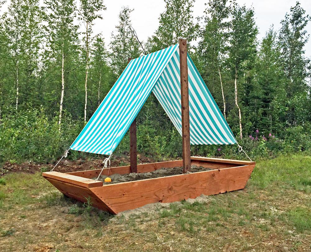 Sandbox Plans DIY  How to Build a Sandbox 17 DIY Plans