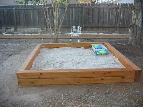 Sandbox Plans DIY  35 DIY Sandboxes Ideas Your Kids Will Love