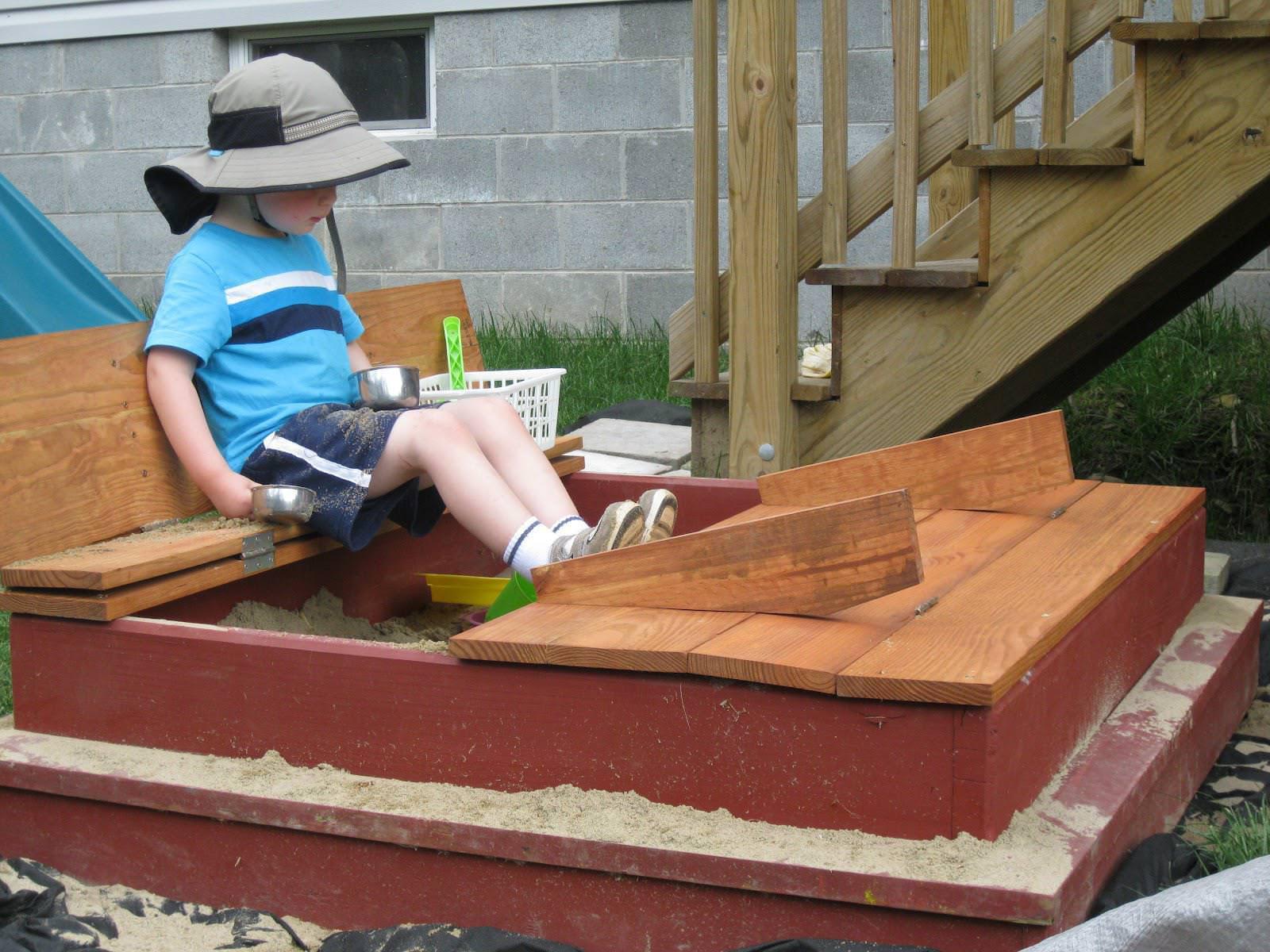 Sandbox Plans DIY  How to Sandbox DIY for your Children s Playground — Lugenda