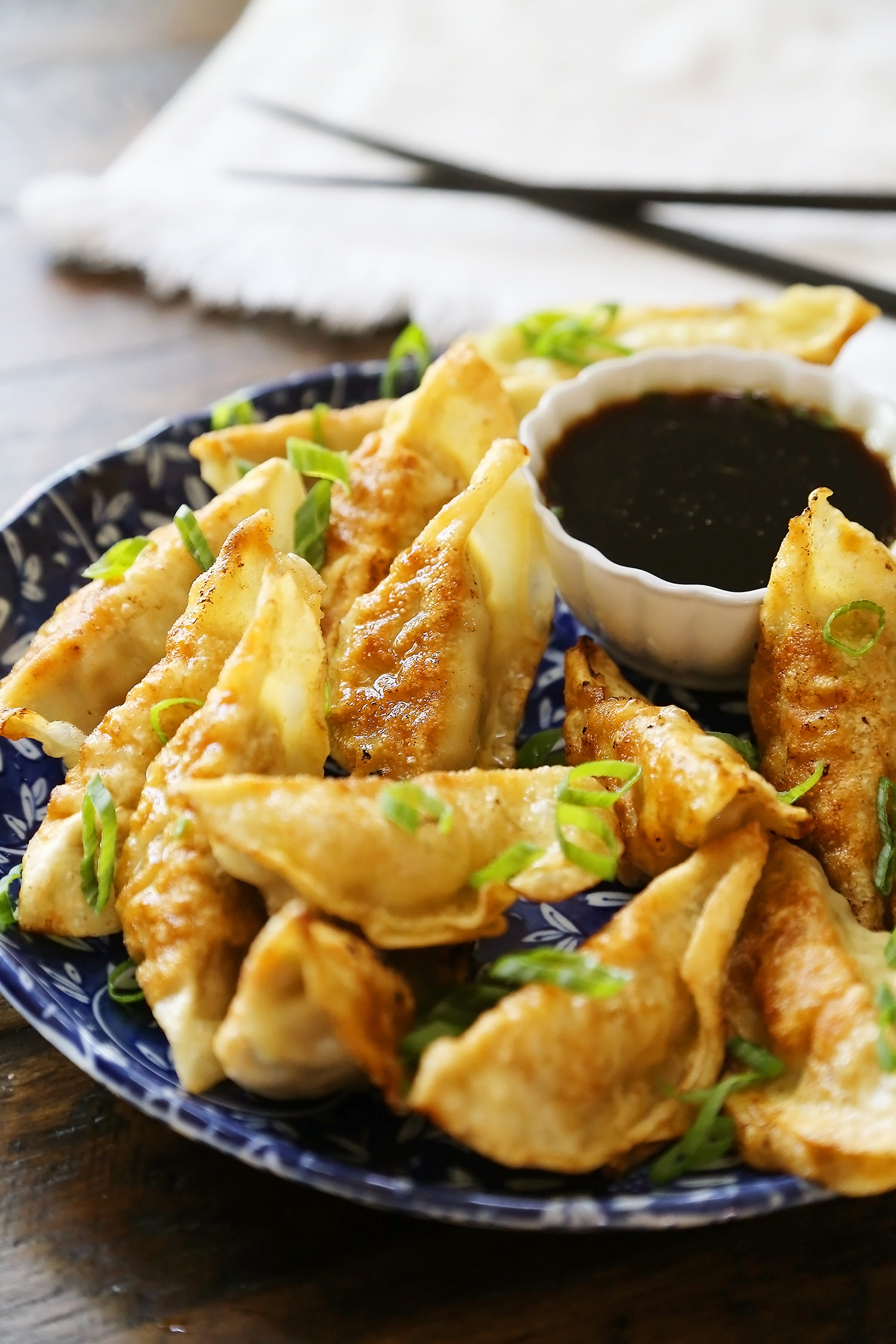 Sauce For Dumplings  Easy Asian Dumplings with Soy Ginger Dipping Sauce