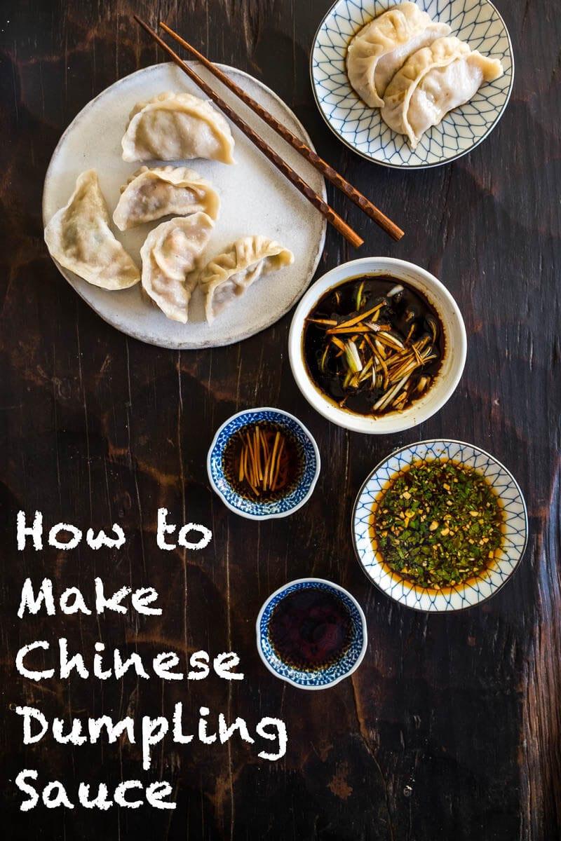 Sauce For Dumplings  How to Make Chinese Dumpling Sauce