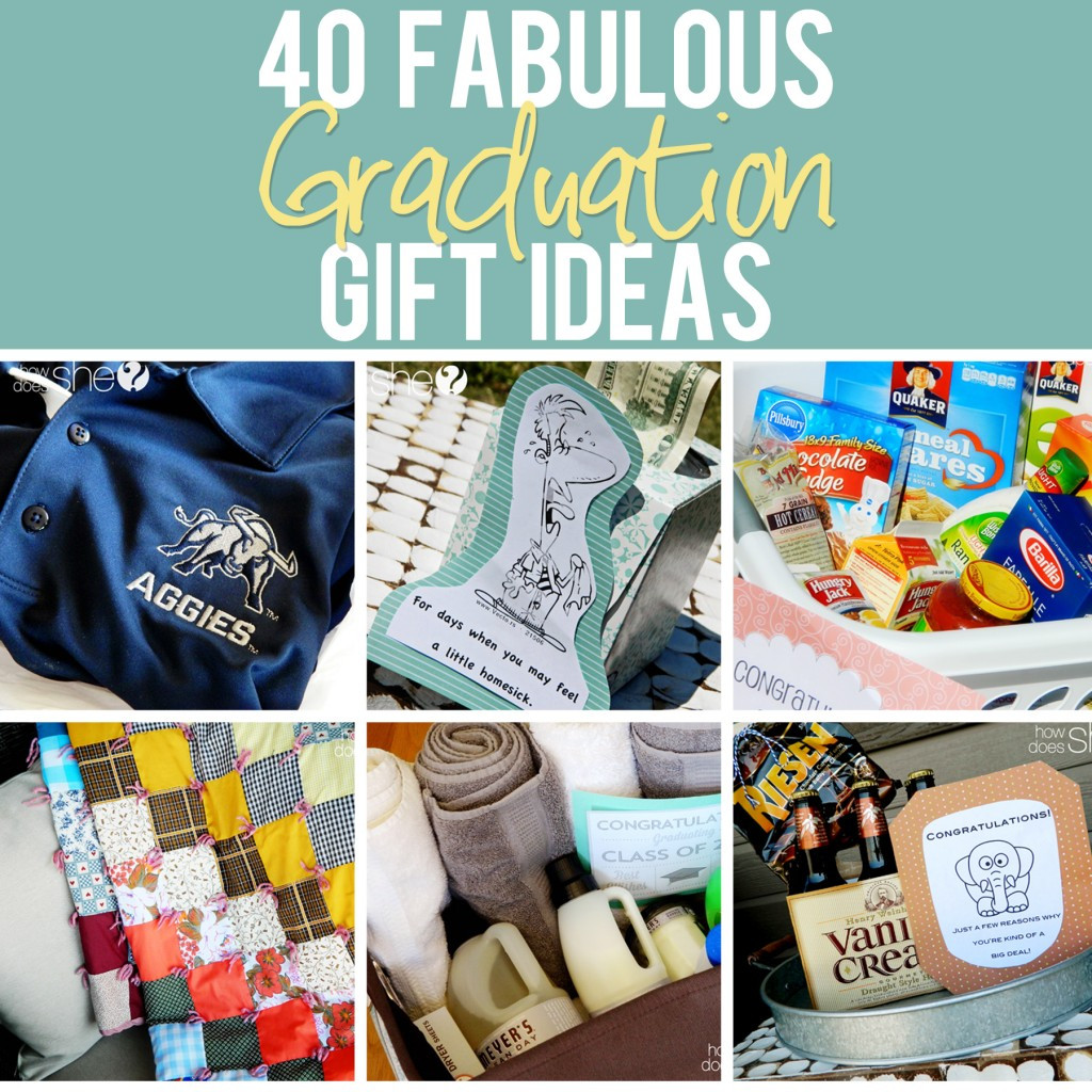 Senior Graduation Gift Ideas  40 Fabulous Graduation Gift Ideas The best list out there