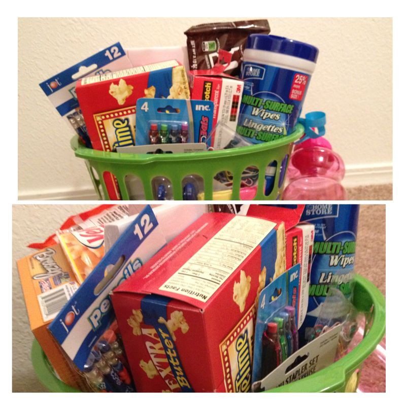 Senior Graduation Gift Ideas  Cute high school graduation t basket Less than $20