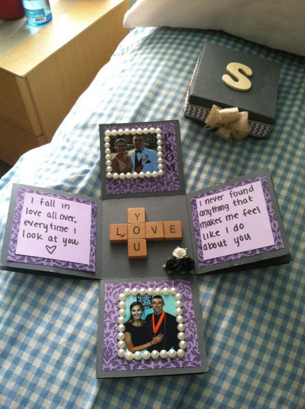 Sentimental Gift Ideas For Boyfriend  15 Romantic Scrapbook Ideas for Boyfriend Hative