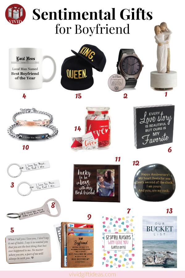Sentimental Gift Ideas For Boyfriend  15 Sentimental Gifts For Your Boyfriend Make His Heart Melt