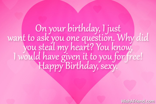 Sexy Birthday Wishes  y Birthday Quotes For Boyfriend QuotesGram