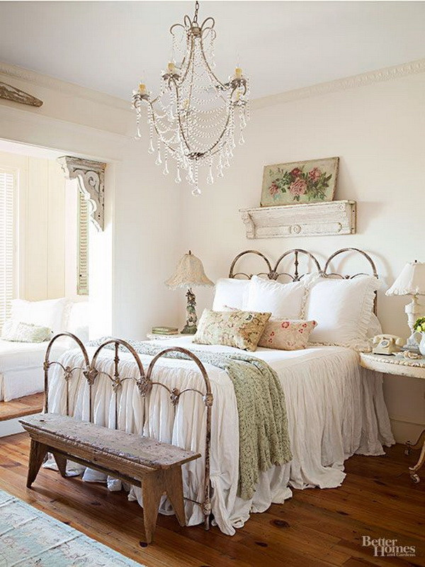 Shabby Chic Bedroom Ideas  30 Cool Shabby Chic Bedroom Decorating Ideas For