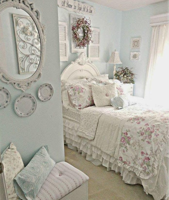 Shabby Chic Bedroom Ideas  33 Sweet Shabby Chic Bedroom Décor Ideas