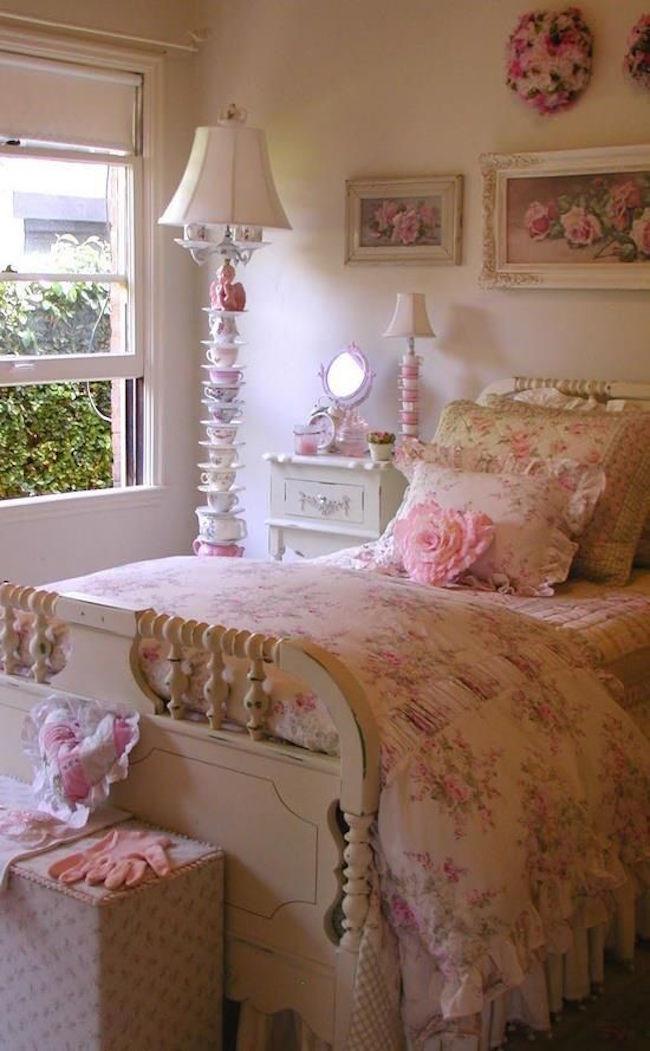 Shabby Chic Bedroom Ideas  25 Cool Shabby Chic Bedroom Design Ideas