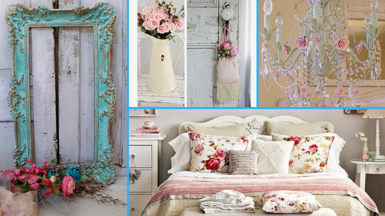 Shabby Chic Bedroom Ideas  How to DIY shabby chic bedroom decor ideas 2017