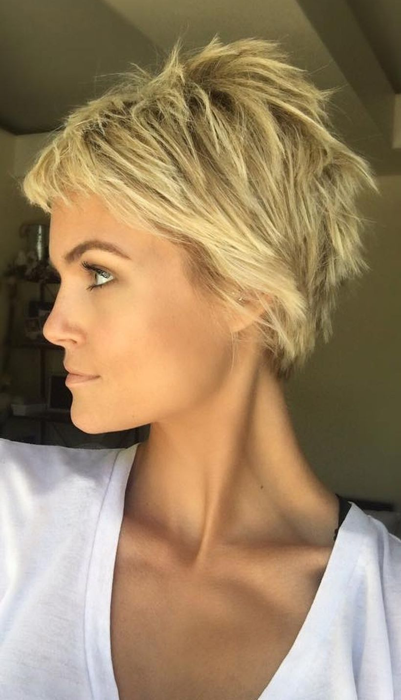 Short Cool Hairstyles  Cool short pixie blonde hairstyle ideas 3 Fashion Best