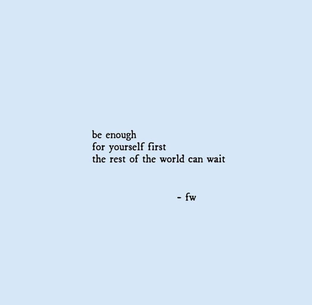 Short Self Love Quotes  Self worth Self love