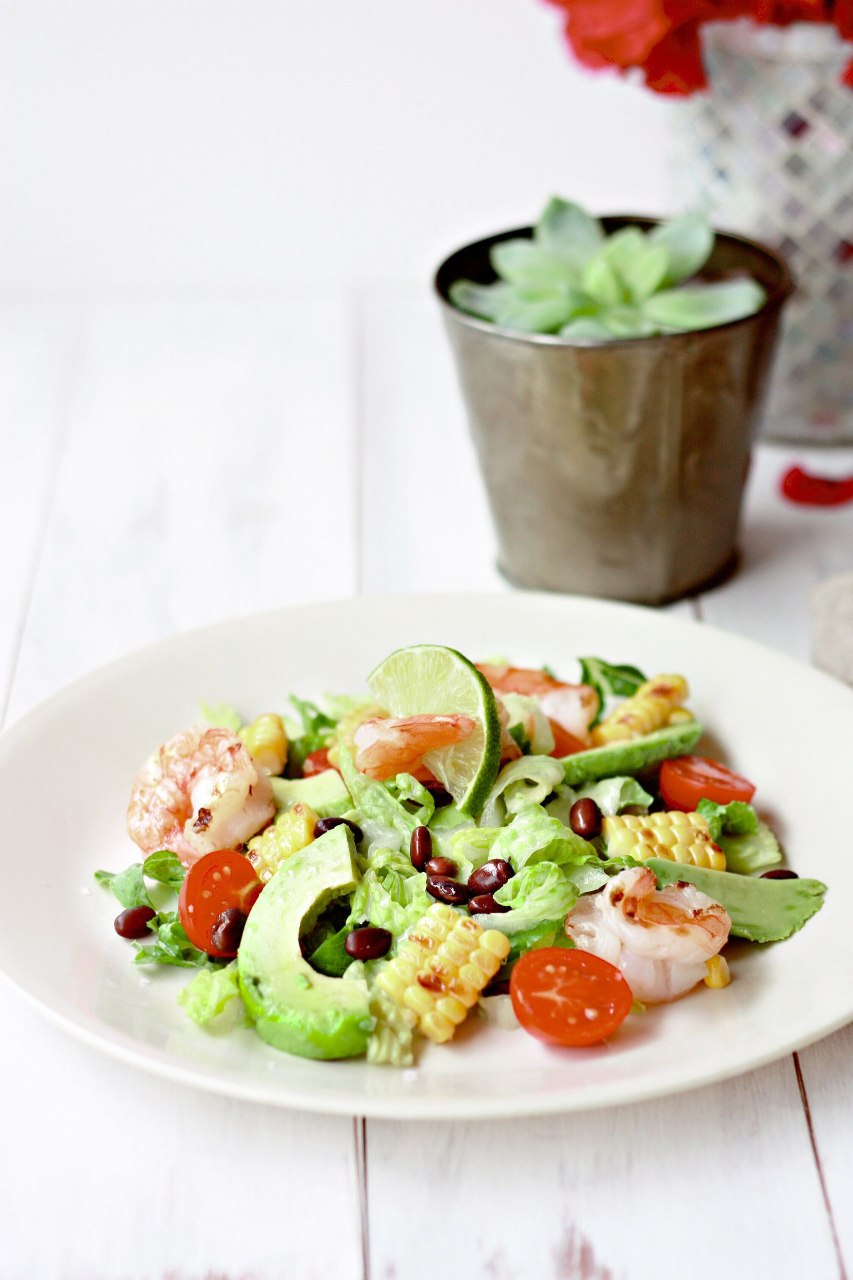 Shrimp And Corn Salad  The Yummy Mummy Kitchen Cookbook – And a Grilled Shrimp